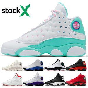 13 13S من الرجال والنساء أحذية كرة السلة الرجل الأبيض حلق الأخضر الوردي كاب وثوب ولدت وحصلت على لعبة ما هو الحب مدرب حذاء رياضة