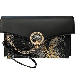 Female Bag 2020 New European and American Fashion Clutch Dress Banquet Evening Bag Clutch Serpentine Texture Wild