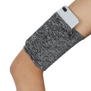 Outdoor de Fitness For Men Mulheres Mobile Phone Arm Bag Sports Elastic Correndo respirável Bolsa Phone Holder