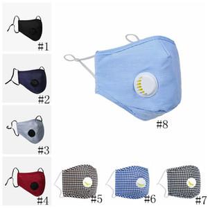 Máscaras 11style cara con filtros anti-polvo PM2.5 máscara con la máscara de respiración válvula ajustable de la boca de los niños de Protección al Adulto Máscara Diseñador GGA3302
