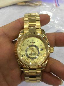 С оригинальной деревянной коробке 6 Цвет завод производитель наручные часы сапфировое стекло роскошные 42 мм 326938 326939 326935 Азия 2813 автоматические мужские часы