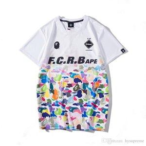Hommes Femmes Gradient Camo Sport Respirant Hip Hop T-shirts à manches courtes Casual Amant T-shirts Livraison gratuite