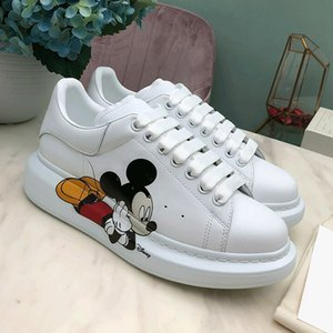 Hot Sale Luxury Designer Women White Shoes Top Fashion Platform Leather Casual Shoes Sneakers Running ShoesWomenabout Size US5-9 Type5