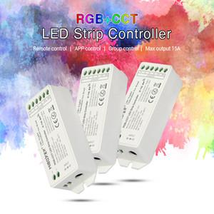 Mi боксером RGB RGBW RGB + CCT Светодиодные полосы контроллер Smart System Control LED FUT043 FUT044 FUT045 FUT043A FUT044A FUT045A DC12V ~ 24V