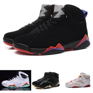 2020 J7 True Flight French Blue VII for Men basketball shoes sport boot Hot selling MID Classic 7s sneaker boot