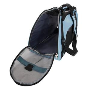 Полые из Портативного водонепроницаемого дышащего Pet сумка Light Blue Цвет Размера L Pet мешок дышащие для собак