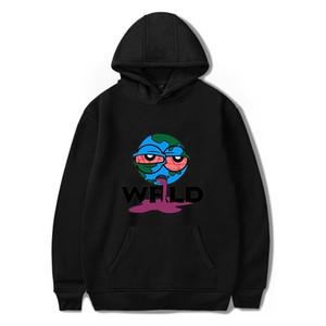 999 Juice Wrld Terre Hoodies personnalité Cartoon Sweatshirts Couple imprimé RIP décontracté cool Rapper Mode Hommes Hauts
