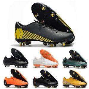 Mens Düşük 360 Futbol scarpe calcio açık mercurial superfly VI Elite SG AC XII Elite SG AC VII CR7 chaussures Çocuk Futbol Ayakkabıları