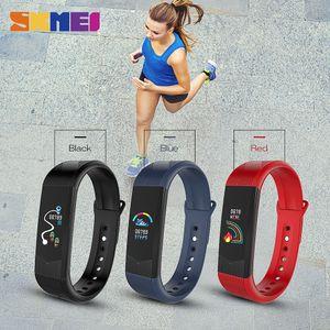 Outdoor sport intelligente Guarda Sport Fitness Tracker Smartwatch pressione sanguigna Heartrate impermeabile Bracciale 3D delle donne Orologi da polso