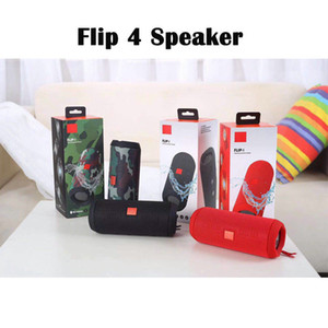Flip 4 Portable Wireless Bluetooth Speaker Flip4 Stereo Surround Bass Audio Waterproof Speakers Supports Multiple Subwoofer Player