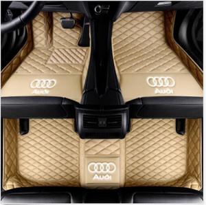 Audi A7 2012-2019 용 고급 맞춤형 방수 카 매트 방수용 비 슬립 카펫 바닥 매트 무독성 및 무취
