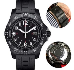 NUEVO SUPERIOR Hombres Relojes para hombre Relojes COLT FT X74320E4 Movimiento automático orologio los 44MM NEGRO Dial relojes de pulsera dos co correa de caucho