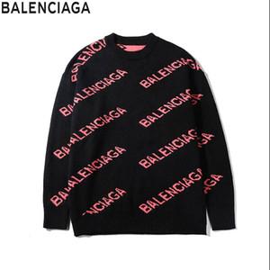 Senior Designer 2019 BALENCIAGA uomini di modo sportivo abbigliamento femminile maglione cotone di alta qualità sanitaria Wardrobe Sportswear Uomo Donna