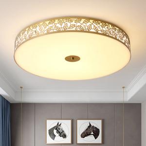New design D 60cm X H 10cm modern  led ceiling lights leaf shape gold ceiling lamps for bedroom hallway balcony study room