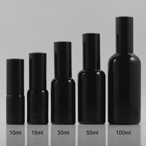 100 ml Beleza Frascos do pulverizador e bomba de vidro Soro / loção garrafa para Cosmetic Makeup Automizer Bottle