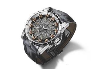 Hot Marca Homem Relógios EXCALIBUR RDDBEX0495 Roger Cavaleiros da Távola Redonda Montre Homme Assista Homens Dress Negócios Masculino Relógio Relógios