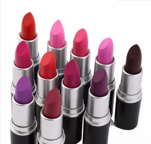 2020 hot matte Lipstick M Makeup Luster Retro Lipsticks Frost Sexy Matte Lipsticks 3g 25 colors lipsticks with English Name
