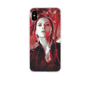 Super Hero Phone Case For iPhone 6 7 8 X TPU Phone Cover Creative Cell Phone Protector For iPhone Xr Xs Max Q668