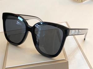 4093 Luxus Beliebte Marke Designer Sonnenbrillen Mode Cat Eye Frame Sonnenbrille Set mit Diamanten und Nieten Design Eyewear kommen mit Etui