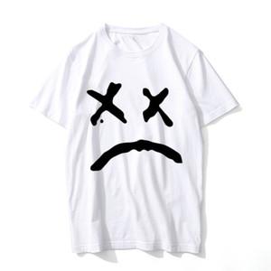 Lil Peep T Shirt Música Homens Verão Gráfico Tees Rap Rapped T-shirt Hip Hop Hip Hop Hip Hop Oversize Confortável Hip Hop T Tshirt SH190710