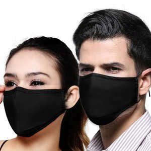 PM2.5 Party Face Mask cotton Air Purifying Anti Dust Pollution Mask Adults Mask Adjustable Reusable Breathable Masks LJJA3825