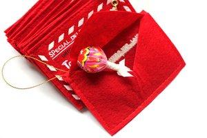 مغلفات حلوى عيد الميلاد هدية حقيبة جيب المال للحصول على بطاقات المعايدة أكياس شجرة عيد الميلاد شحن مجاني زينة A03