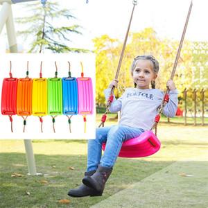 실내 및 야외 피트니스 아이들의 스윙 키즈 컬러 EVA 앉아 보드 형 스윙 야외 정원 매달려 스윙 T9I00436