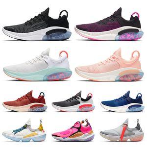 Nike Joyride Run FK Мужчины Женщины кроссовки Platinum Tint University Red Racer Blue Core Черный Мода женская мужская тренер спортивный кроссовки 36-45
