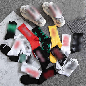 Brand Sports Socks Fashion Cotton Stockings Skateboard Hip-Hop Stockings Couples Socks Casual Cotton Breathable Stockings Elastic Sock