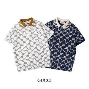 Camisa Polo T-shirt Casual Sports de 2020 Designer de Verão pólo dos homens de manga curta de Slim Polos Fashion Street Wear Top Men