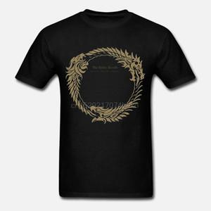 Naviiro Vêtements pour hommes The Elder Scrolls Online Jeu Badge manches courtes T-shirt