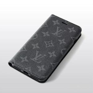 Adequado para iPhone 11 Pro MAX XS XR X 7 8 Plus caixa do telefone estojo de couro contraste móvel elegante