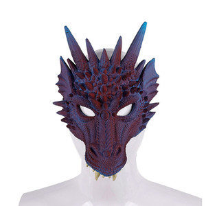 Demon Dragon Cosplay Costume Dinosaur Set Wing and Masks Christmas Halloween Carnival Kid children Gift Party Props
