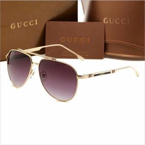 Nuovi uomini di occhiali da sole di marca di lusso del progettista della marca di Italia 1033 gli occhiali di sole pilota che guidano lo shopping che pesca i vetri dell'ombra trasporto libero