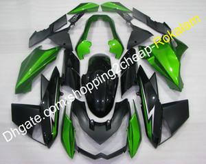 Kawasaki Motosiklet Fairings Fit Z1000 2010-2013 Z 1000 10 11 12 13 Siyah Yeşil Spor Bisiklet Vücut Fairing Kitleri (Enjeksiyon kalıplama)