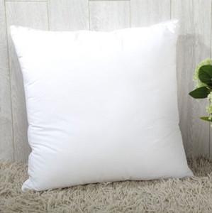 Impressão de calor Sublimação Fronha de Cor Sólida Travesseiro Cobre OEM Almofada 40X40 CM sem inserir bolster Oreiller