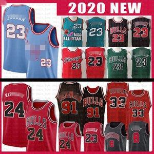 Lauri Zach Markkanen Lavine Bull Michael 23 MJ Basketball Jersey Dennis Scottie 33 91 Rodman 8 Coby Wendell 34 Carter Jr Bianco Pippen