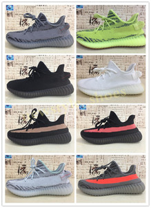 Adidas Yeezy Boost 350 V2 Zebra Boot uomini scarpe gialle scarpe 35 v2 Stivali casuali 35 Boots V2 per le donne l'uomo Kanye West scarpe casual TK04