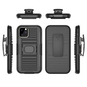 iphone 11 Pro Max 7 8 Plus X Xs XR Kapak Kemer Klipsi için Hibrid Kickstand Halka Tutucu Araç Manyetik Sağlam Zırh Kılıf