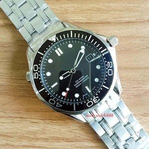 2018 Luxury Professional 300M Джеймс Бонд 007 Часы Master Коаксиальная Автоматический Movment нержавеющей ремешок Спорт Мужские часы Наручные часы