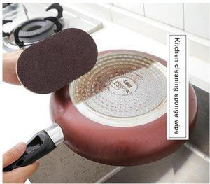 Forte décontamination brosse de bain éponge tuiles brosse vente chaude magie forte décontamination brosse de bain cuisine propre outils