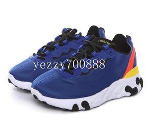 Kids UNDERCOVER x Upcoming React Element 87 Pack White Sneakers Brand boys girls Trainer children Designer Running Shoes Zapatos fdzhlzj