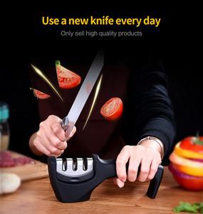 YKC Paslanmaz Çelik Mutfak Bıçak Bileyici 3stage Elmas Kaplı Tekerlek Bıçak Bileme Aracı Tamir Restore Ve Polonya Bıçaklar yardımcı olur