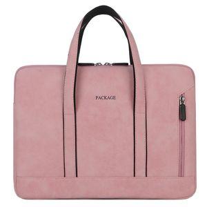 المرأة حقيبة جهاز كمبيوتر حقيبة يد 13.3 14 15.6 بوصة لHUAWEI ديل وآسوس لينوفو أيسر ماك بوك XIAOMI الموالية