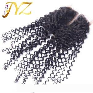 perruque Top quality Cheap Unprocessed Brazilian Peruvian Malaysian Indian Human Kinky Curly Hair 4x4 Top Lace Closue