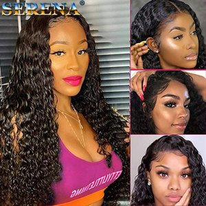 Brazilian Jerry Curl Wig Lace Front Wig Short Curly Lace Front Human Hair Wigs Pre Plucked 4X4 13X4 360 Wigs For Black Women