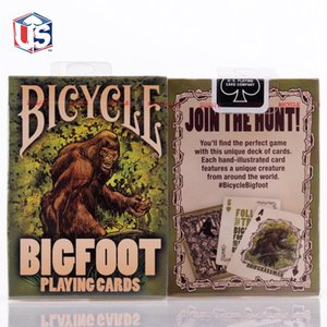 Bicycle BigFoot Playing Cards Deck USPCC Collectible Poker Magic Cards Games Magic Tricks Props for Magician