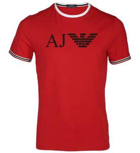 T-shirt homme en coton pur à col rond et à manches courtes pour hommes Aimer Mode de loisirs pour homme Agrandir Code T-shirt manches courtes