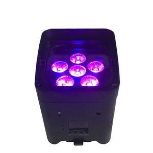 DJ LED Lights Par 18W de 6in1 APP Smart Mobile LED Par Disco Event Club 6 / 10CH