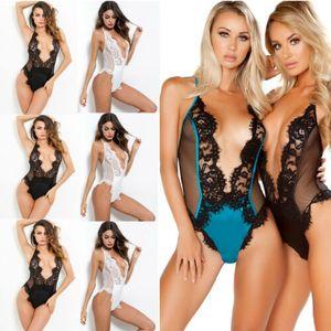 Женская БДСМ Сексуальная ночная одежда нижнее белье стринги Babydoll пижамы платье